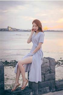 日韩美女优雅气质写真手机