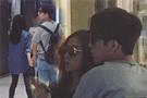 井柏然倪妮牵手逛街 男的帅女的美画面养眼