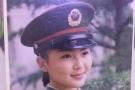 刘涛少女时期军装照曝光 婴儿肥嘟嘟脸很可爱