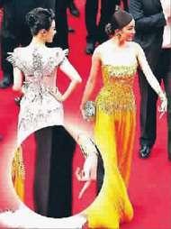 杨幂红毯竖中指 盘点2012娱乐圈最轰动图集