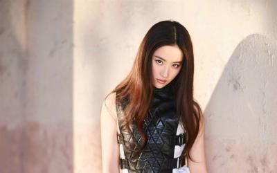 气质美女刘亦菲杂志写真第[1]图片