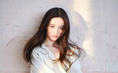 气质美女刘亦菲杂志写真第[3]图片