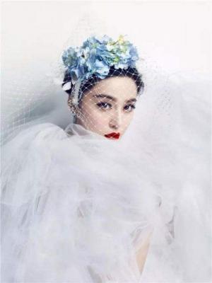 范冰冰最新婚纱照写真 - 第(9)张