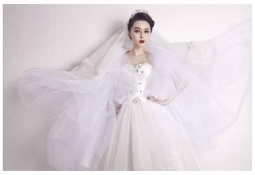 范冰冰最新婚纱照