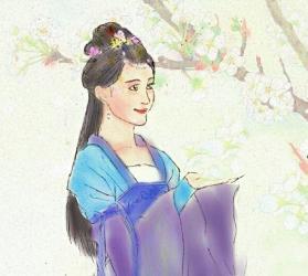 毛晓彤卡通图片