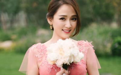 陈晓陈妍希婚礼照伴娘