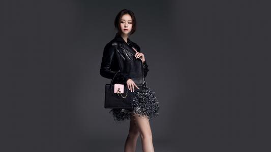 韩国明星小姐沈夏静高清壁纸写真图片