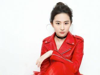 刘亦菲红衣白裙美艳写真第[3]图片