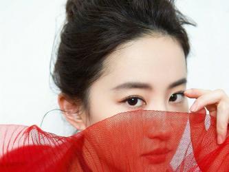 刘亦菲红衣白裙美艳写真第[4]图片