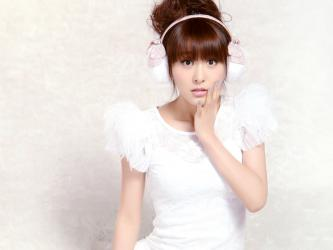 贾青美女写真壁纸1600X1200【14P】_高清桌面壁纸