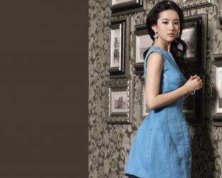 美女刘亦菲壁纸