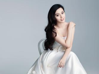 气质美女范冰冰婚纱高清壁纸