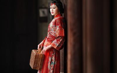 古典美女高清壁纸图片_高清桌面壁纸图片[1]