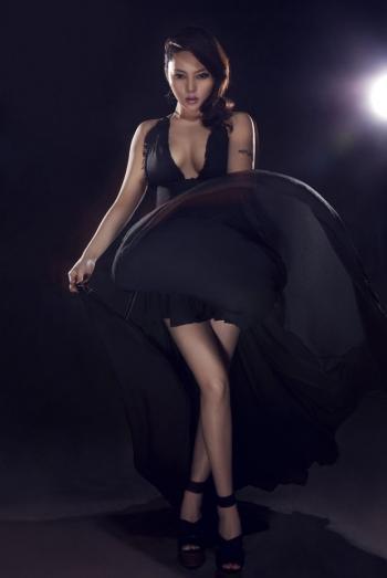 美胸女王冯雨芝无圣光艺术摄影图片写真专辑第[6]图片