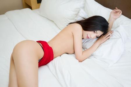 性感妹子丁筱南大胆叉腿身材爆天第[6]图片