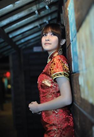旗袍小米尽显东方魅力