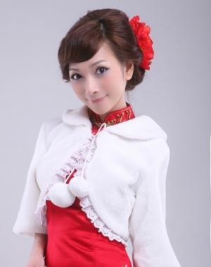 网游刘诗涵红馆旗袍