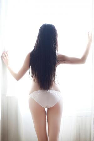 娇羞学妹婧婧白色内衣秀完美身材图片[36]
