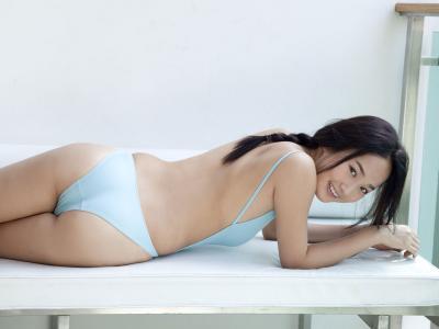 日本少女高嶋香帆KahoTakashima情趣内衣秀诱惑海边大图片图片[57]