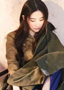 气质美女刘亦菲杂志写真