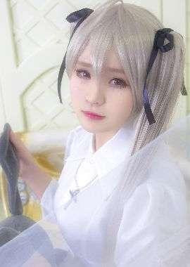缘之空春日野穹cosplay唯美写真