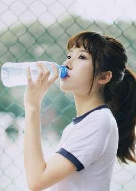 清新美女夏日校园个人摄影写真桌面壁纸_高清桌面壁纸