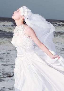 清新甜美婚纱高清壁纸下载