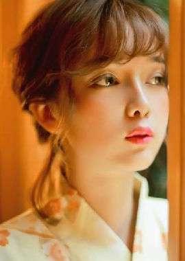 日系和服美女唯美写真电脑壁纸_高清桌面壁纸
