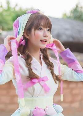 韩国女孩yurisa桌面壁纸_高清桌面壁纸