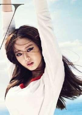 韩国时尚美女高雅拉写真壁纸_高清桌面壁纸