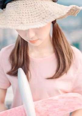 日系小清新美女粉嫩写真桌面壁纸_高清桌面壁纸