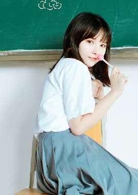 清纯少女学校俏皮写真高清电脑壁纸_高清桌面壁纸