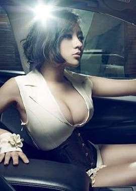 韓國美女大胸車模劉靜怡性感緊繃嬌軀壁紙圖片